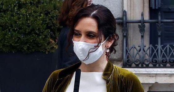 Isabel Díaz Ayuso, en el