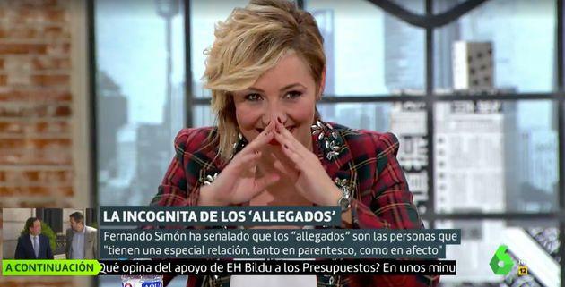 Risas en 'Liarla Pardo' (LaSexta) por el comentario sexual de Cristina