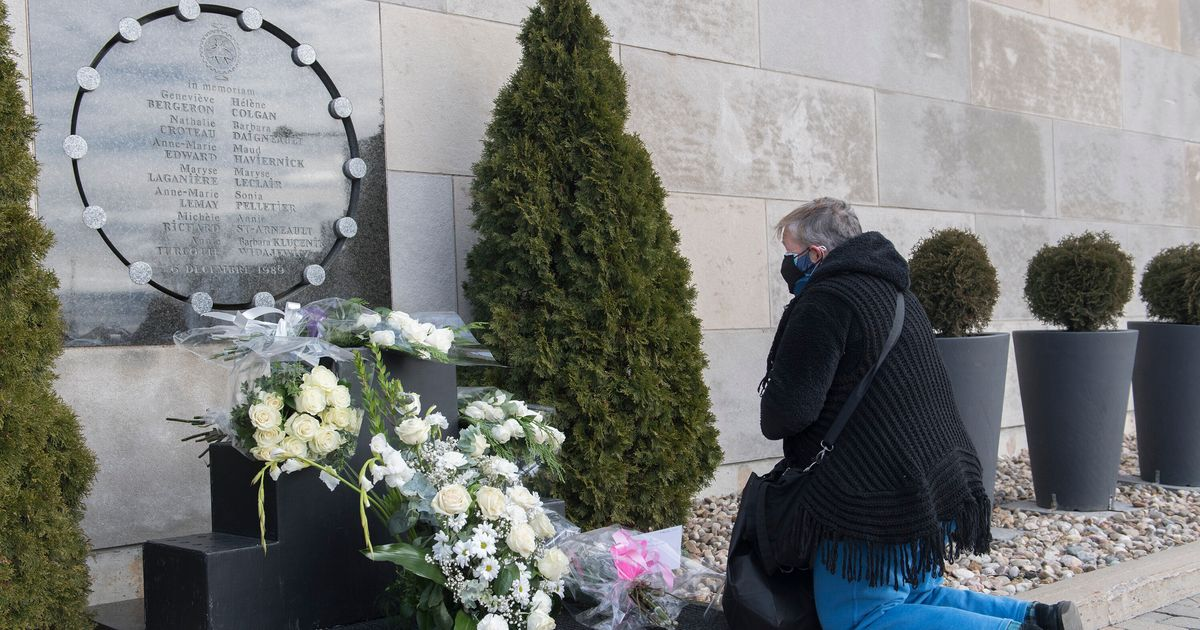 Small-Scale, Sombre Ceremony Marks Anniversary Of Montreal Massacre