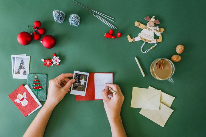 Sending a Christmas card is an easy way to show your respect or appreciation.