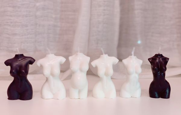 "These <a href=""https://yvrcandles.ca/"" target=""_blank"">candles shaped like a naked woman's torso</a> are definitely sexy and,"