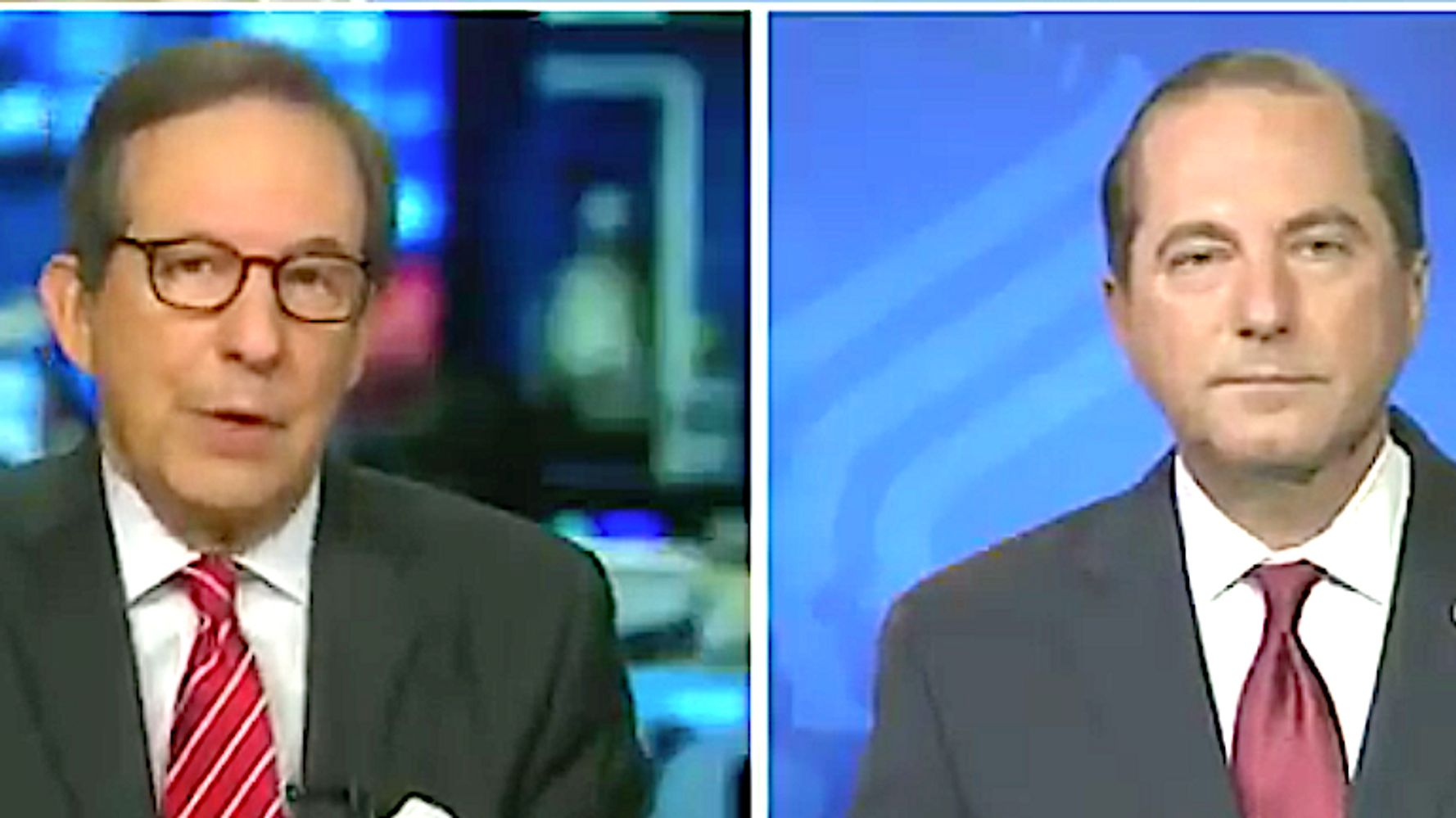Fox News' Chris Wallace Schools Health Boss Azar On Joe Biden's Correct Title