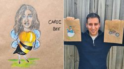 Melbourne Dad's Lunch Bag Art Will Warm Your Stone-Cold 2020