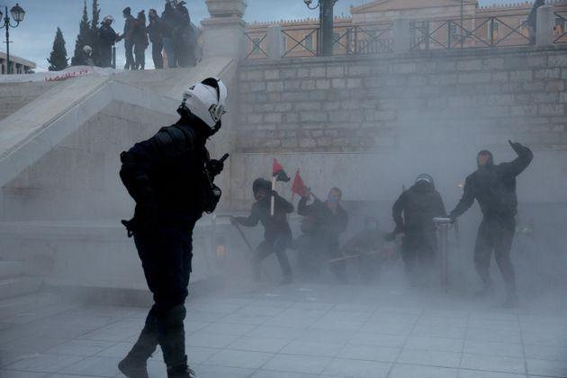 4 Δεκεμβρίου 2020 παραμονές της επετείου για το δολοφονία Γρηγρόπουλου. Ένταση και προσαγωγές ανάμεσα...