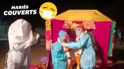 Testée positive le matin de son mariage, cette Indienne s'est mariée en