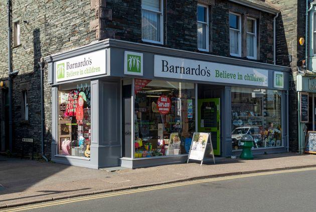 A Barnardo's charity