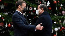 Macron remercie al-Sissi de son soutien après la