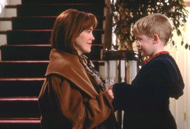 Catherine O'Hara played Macaulay Culkin on-screen mum in Home