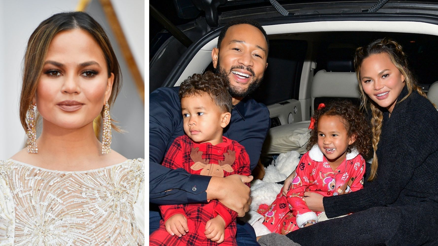 Chrissy Teigen's Family Photo Shoot Troubles Are Too Relatable For These Parents