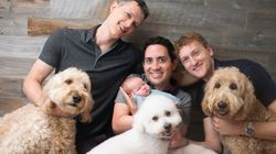 This Throuple Made History With Their First Child. Here's What Their Lives Are