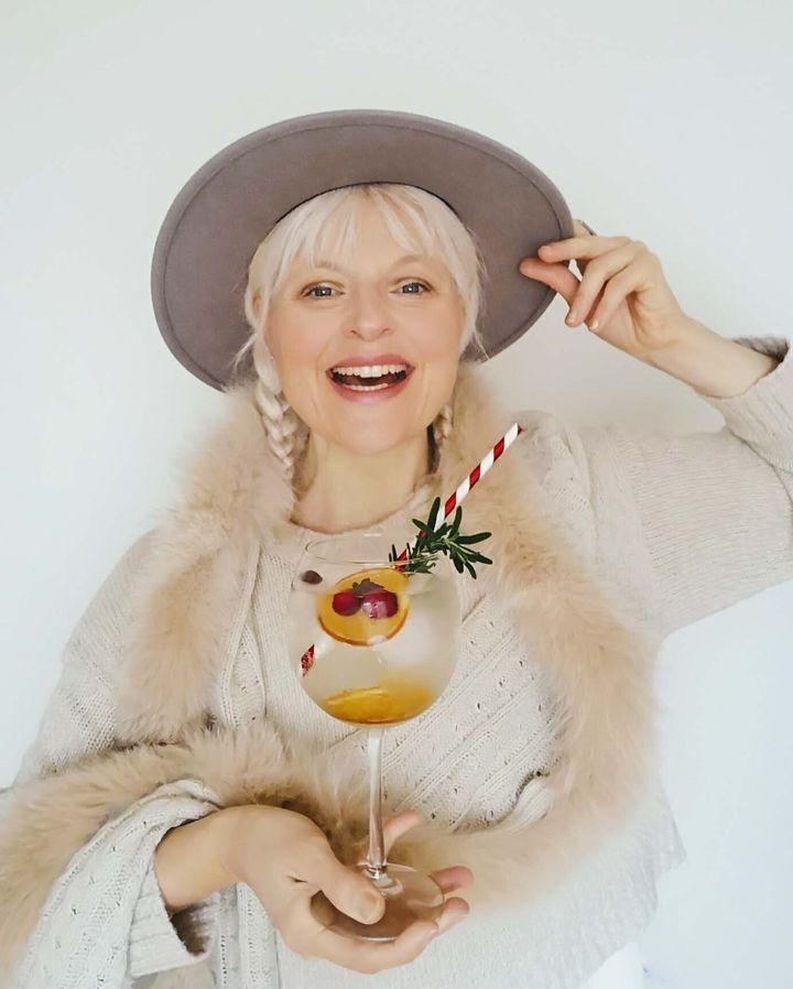 L'ambassadrice de Spiritueux Québec, Emmanuelle Ricard, alias Madame Gin.