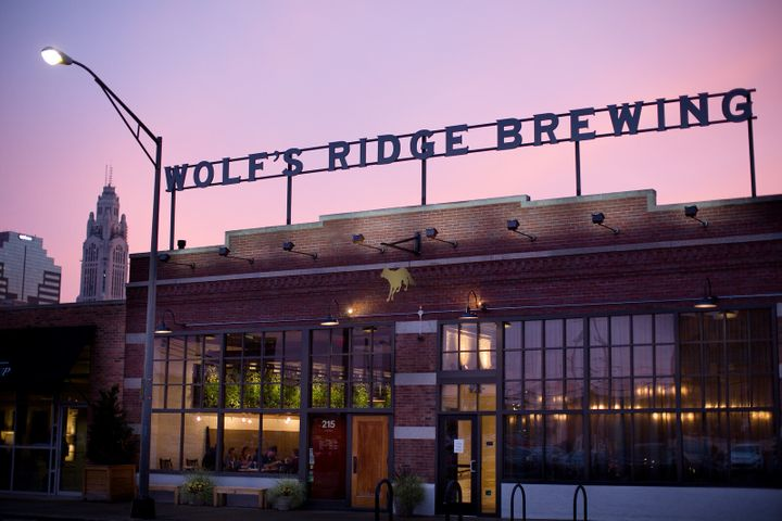 The owners of Wolf's Ridge Brewing in Columbus, Ohio, were able to pay employees to stay at home when they were potentially e