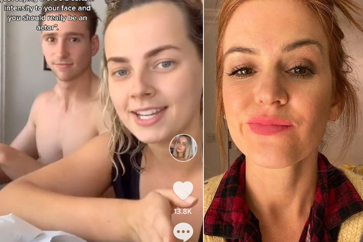 Isla Fisher reportedly approached a Sydney TikTok user at the beach suburb of Maroubra. A video about the encounter has now gone viral on the platform.