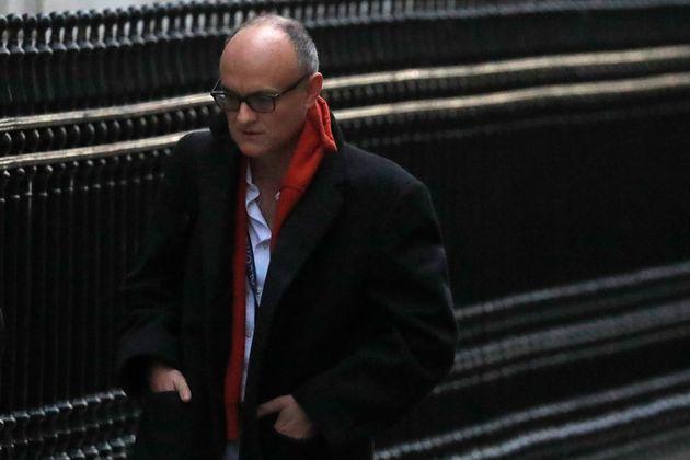 Dominic Cummings, the former chief adviser to Britain's Prime Minister Boris