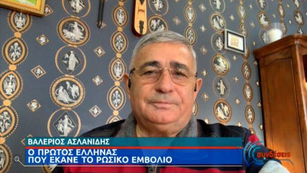 Από την πρώτη δόση εμφάνισε αντισώματα ο Έλληνας που έκανε το ρωσικό