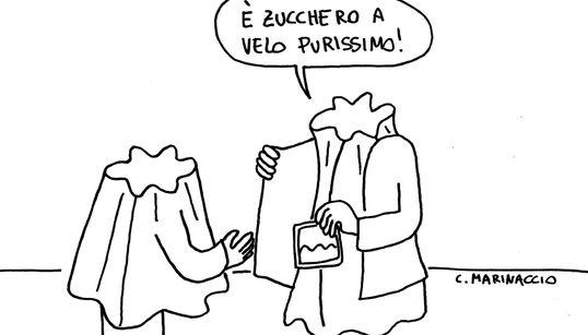 Natale, pandoro e zucchero a velo (di C.