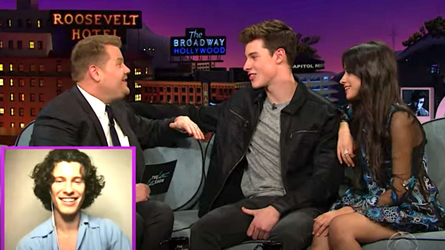 Shawn Mendes Watches James Corden Hound Him And Camila Cabello In 2015