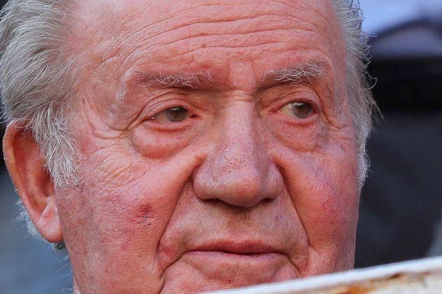 Juan Carlos I, en la feria de San Isidro en junio de 2019 en
