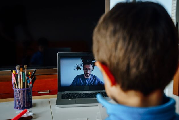 Schools have had to turn to online teaching in some cases during the pandemic (file