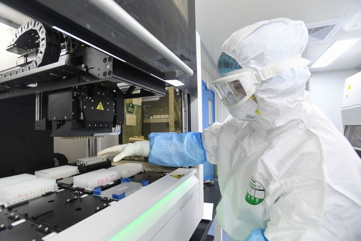 Scientists in China were the first to discover the genome sequencing behind the virus itself, opening the door to scientists
