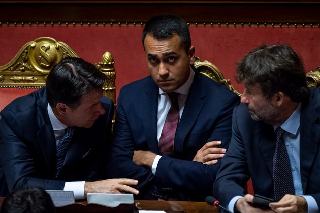 ROME, ITALY - SEPTEMBER 9: Italian Prime Minister Giuseppe Conte, Italian Minister of Foreign Affairs...