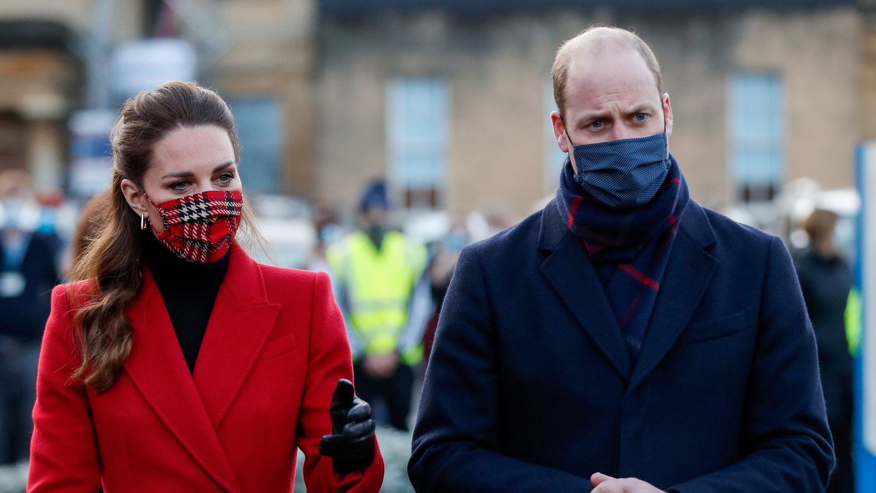 Prince William And Kate Middleton's Royal Train Tour Criticized Amid Pandemic