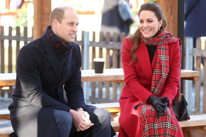 The duke and duchess are undertaking a short tour of the UK ahead of the Christmas holidays to pay tribute to the inspiring w
