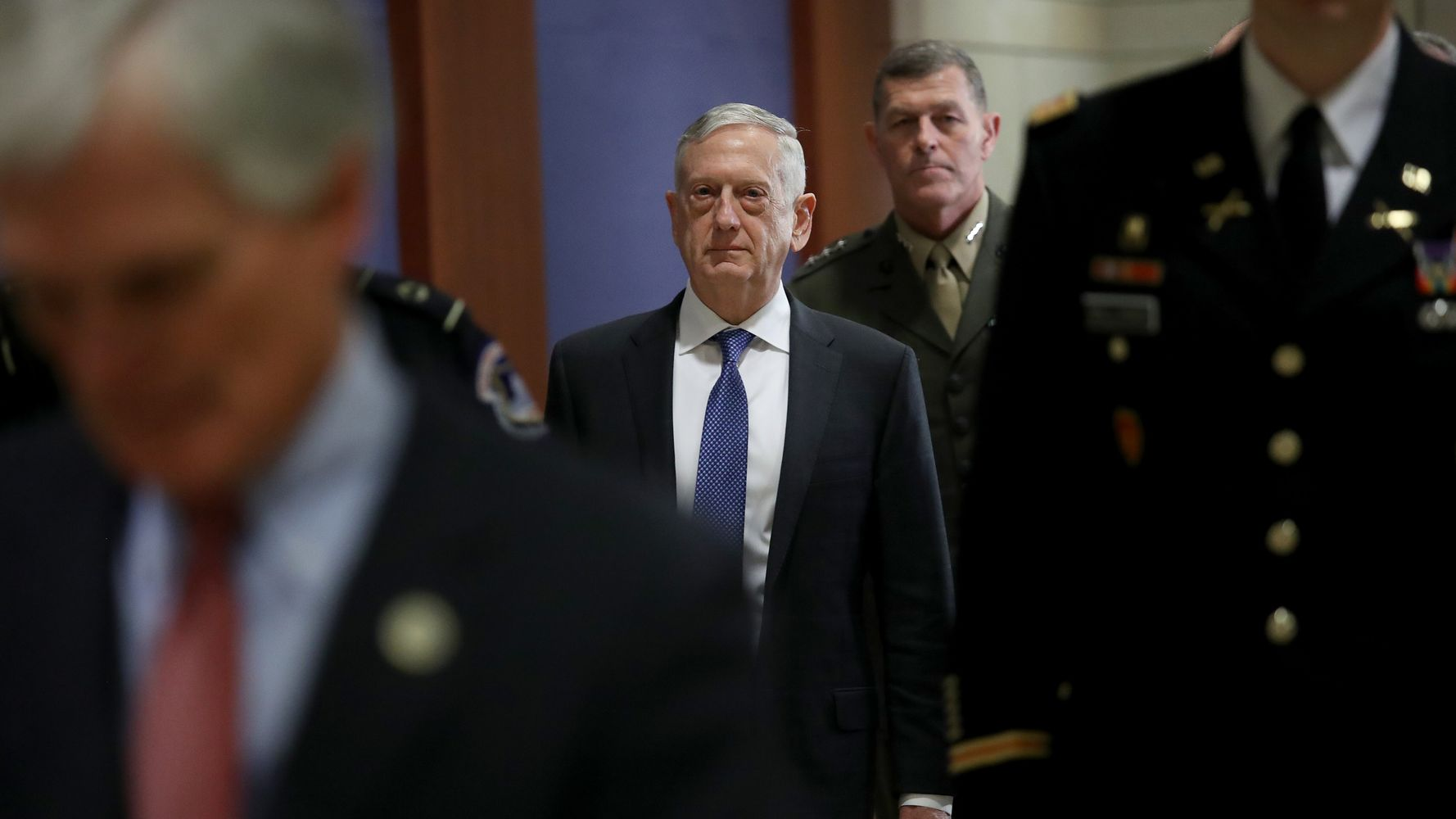 Jim Mattis Privately Defends Trump's Biggest Arms Sale As Congressional Opposition Grows