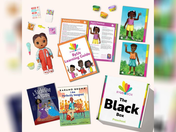 ByUs Boxes aim to share positive educational materials for families, featuring content made by and for equity-seeking groups.