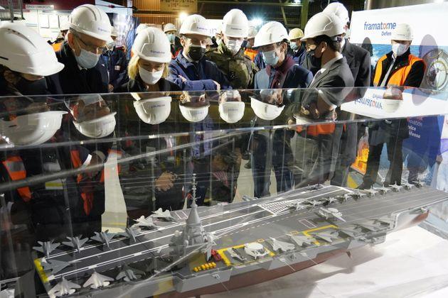 Πυρηνοκίνητο το νέας γενιάς γαλλικό αεροπλανοφόρο, που θα αντικαταστήσει το «Σαρλ ντε