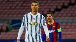 La Juventus de Cristiano, con doblete, somete al Barça y le condena a un cruce más duro en