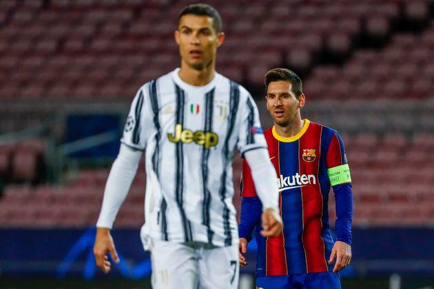 Ronaldo, por delante de Messi, también en el