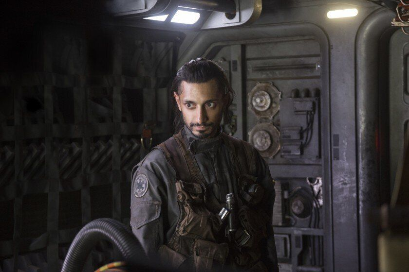 """Ahmed in """"Rogue One: A Star Wars Story."""""""