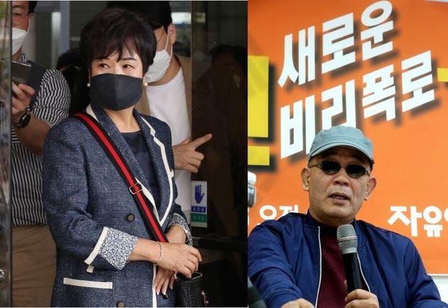 손혜원 전 더불어민주당 의원(과) 사망한 동생 손 아무개