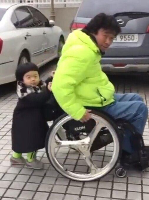 강원래와 아들 /김송 인스타그램