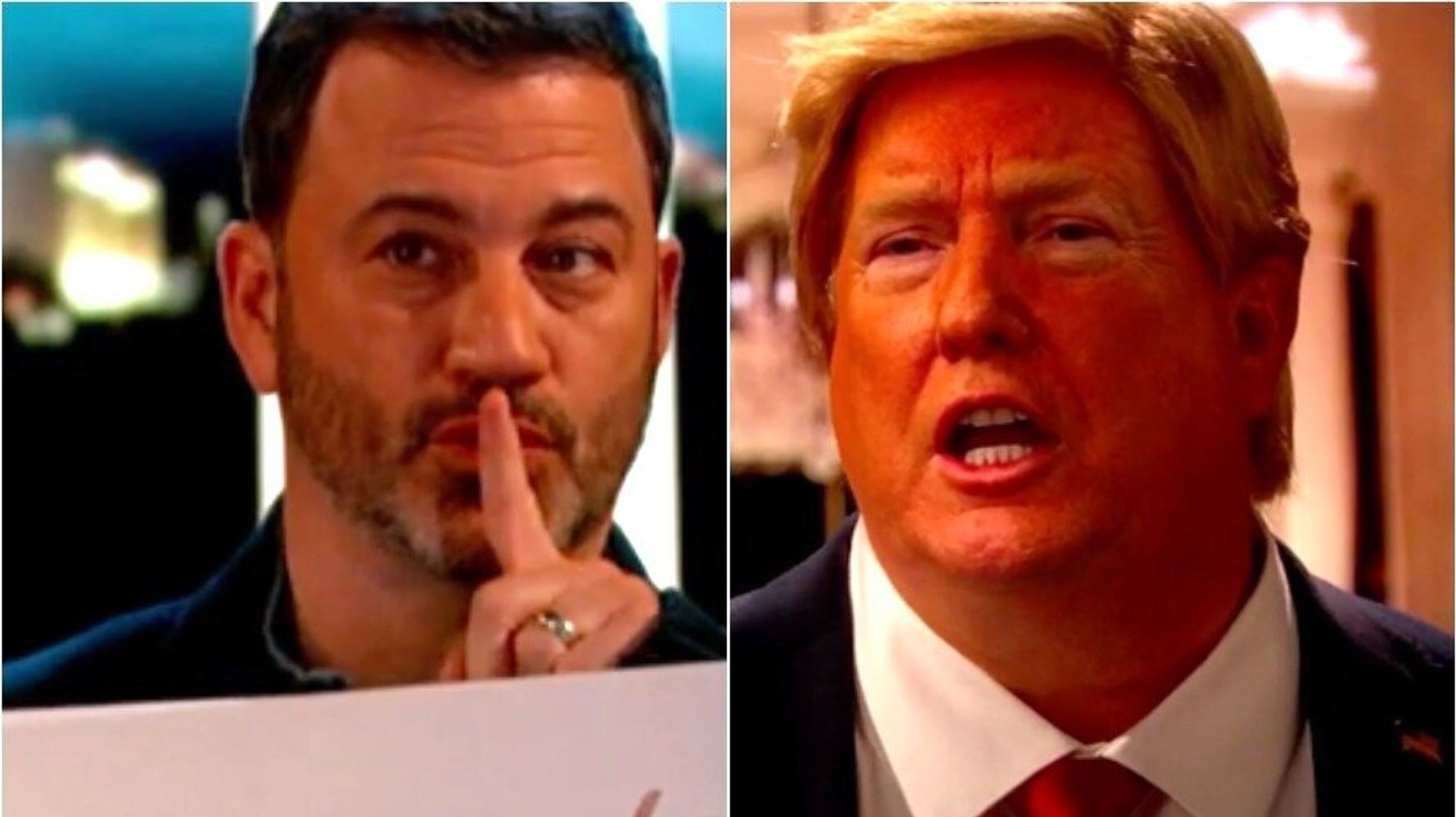 Jimmy Kimmel Shows Donald Trump Exactly How He Feels In Spoof 'Love Actually' Scene