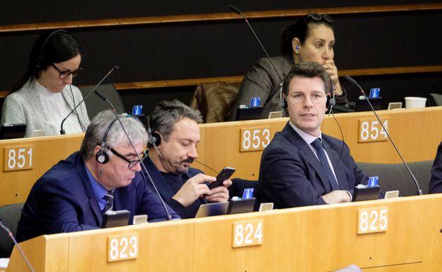 BRUSSELS, BELGIUM - NOVEMBER 13, 2019: Slovenian politician and Member of the European Parliament (MEP)...
