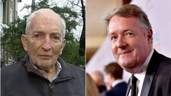 'Now, Who Are You?' Grandfather Who Charmed With Vaccine Tale Puts Piers Morgan In His