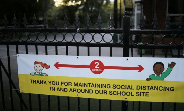 Parents says schools are trying to manage social distancing but it's almost impossible to do so (file
