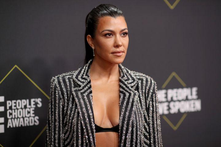 Kourtney Kardashian, movie star.