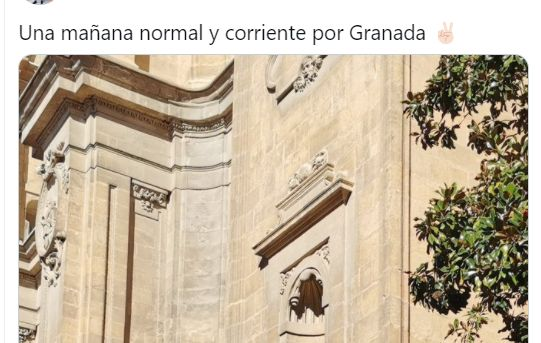 Tuit sobre la catedral de