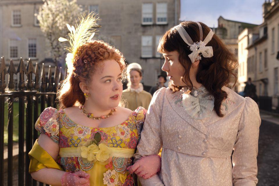 Nicola Coughlan (left) as Penelope in