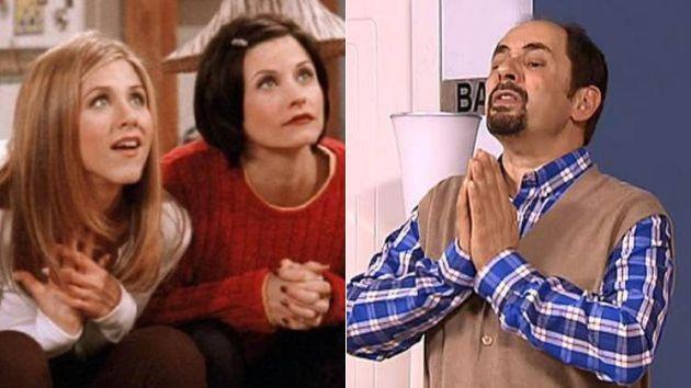 Una escena de 'Friends' y de 'La que se avecina'.