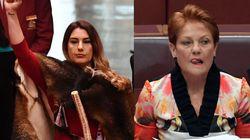 Greens Senator Lidia Thorpe Has Perfect Response To Pauline Hanson's 'Racist'
