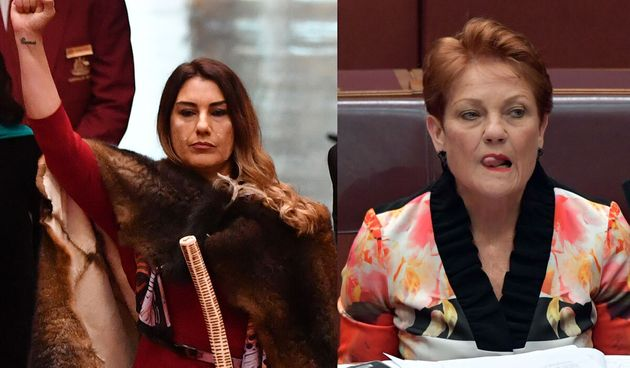 Greens Senator Lidia Thorpe delivered a seamless comeback to Senator Pauline Hanson's jibes in the senate...