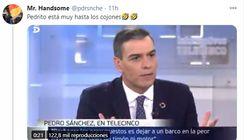 El momento de Pedro Sánchez con Piqueras que arrasa en Twitter: 8.000 'me gusta' y