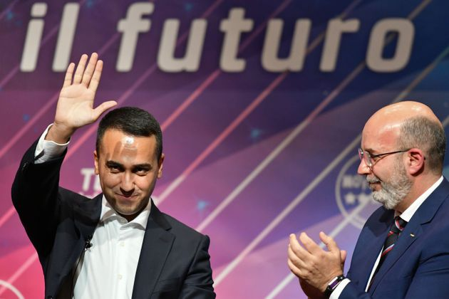 Italy's Foreign Minister and outgoing head of Italy's anti-establishment Five Star Movement (M5S), Luigi...