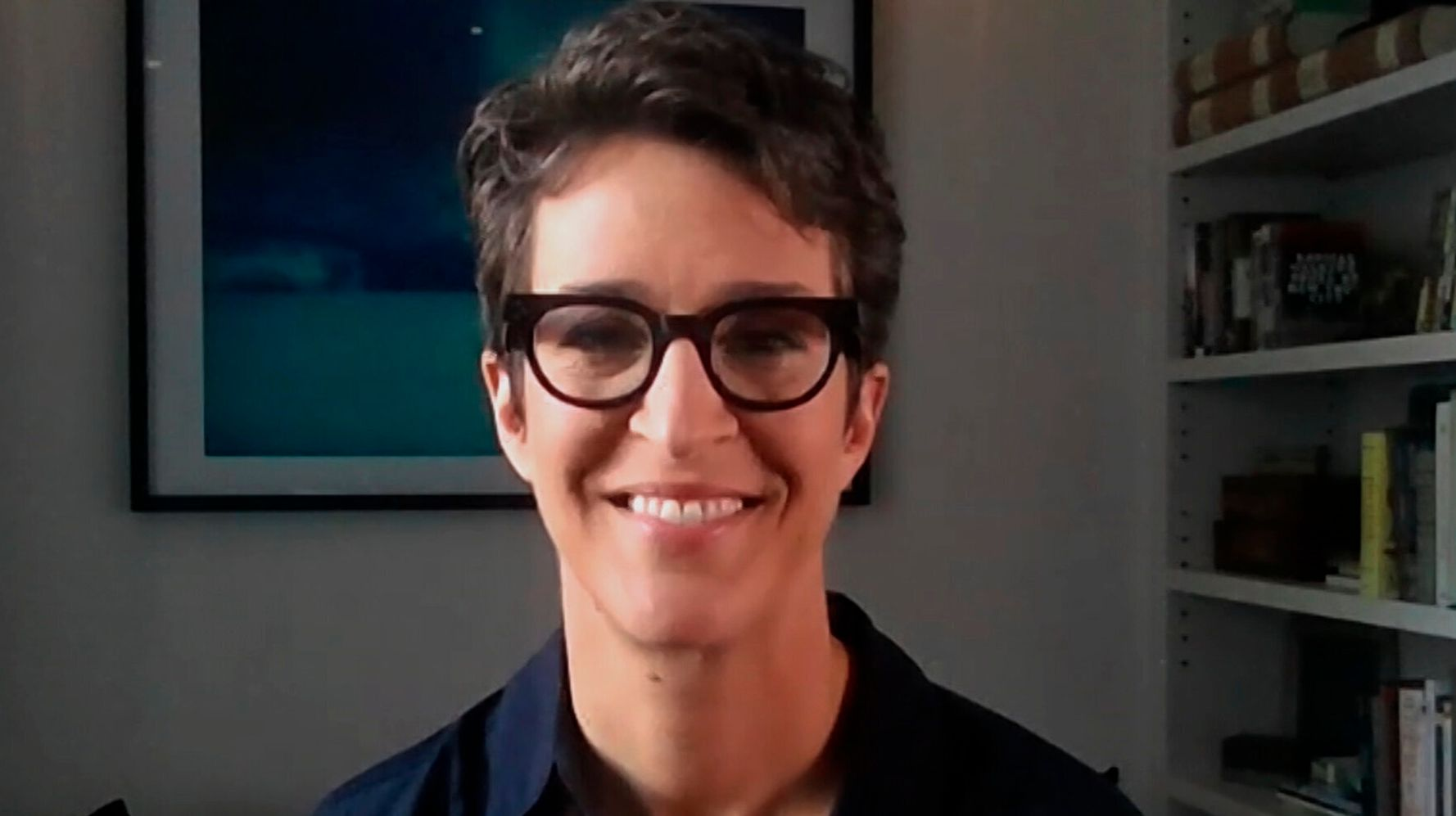 Rachel Maddow Says Partner's COVID-19 Fight Was 'Scariest Thing I've Ever Been Through'