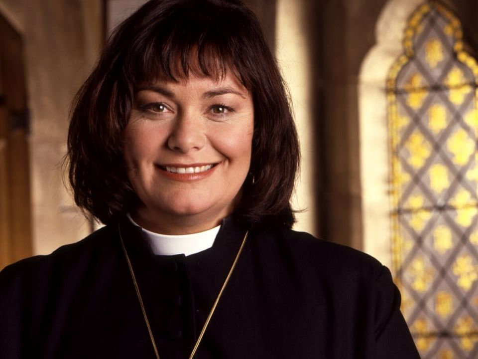 Dawn French as Geraldine Granger in The Vicar Of