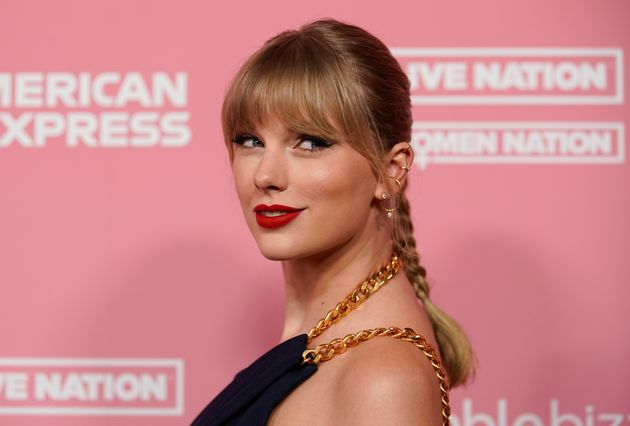 Taylor Swift durante los Billboard Women in Music en diciembre de
